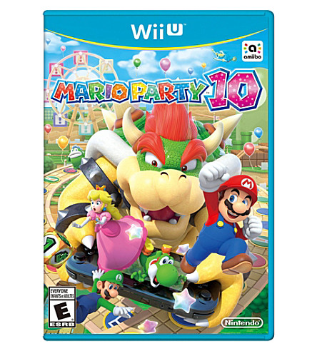 NINTENDO Mario party 10 Wii U game