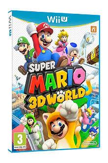NINTENDO Super Mario 3D World game Wii U