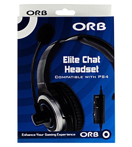 ORB Elite Chat PS4 headset