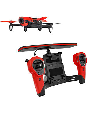 PARROT Bebop Red Drone and Skycontroller