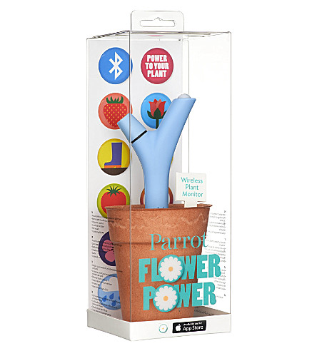 parrot flower power wireless plant monitor. Black Bedroom Furniture Sets. Home Design Ideas