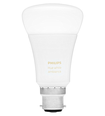 PHILIPS Hue white b22 ambiance LED smart bulb