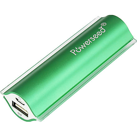 POWERSEED Power Bank 2400Mah USB phone charger