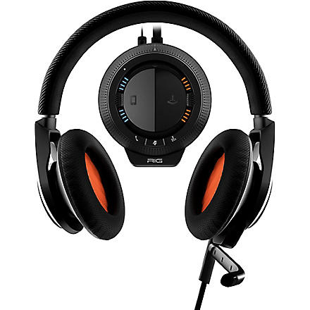 PLANTRONICS RIG stereo gaming headset and mixer
