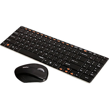 RAPOO 9060 wireless keyboard and mouse