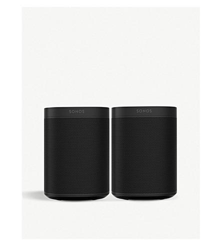 SONOS Sonos One Starter Pack in Black