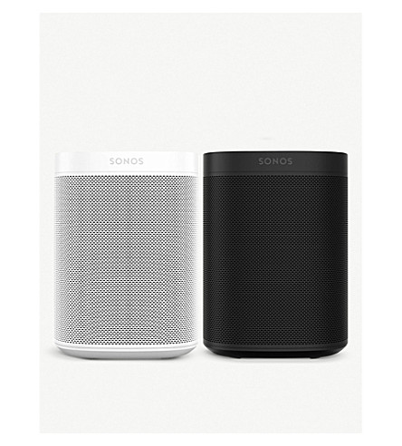 SONOS Sonos One Starter Pack in Black and White