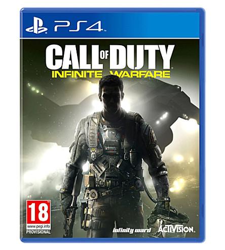 SONY Call of Duty Infinite Warfare PS4 game
