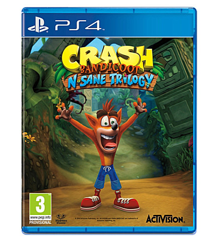 SONY Crash Bandicoot N. Sane Trilogy PS4 Game