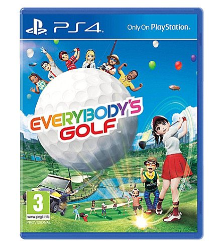 SONY Everbody's Golf PS4 Game