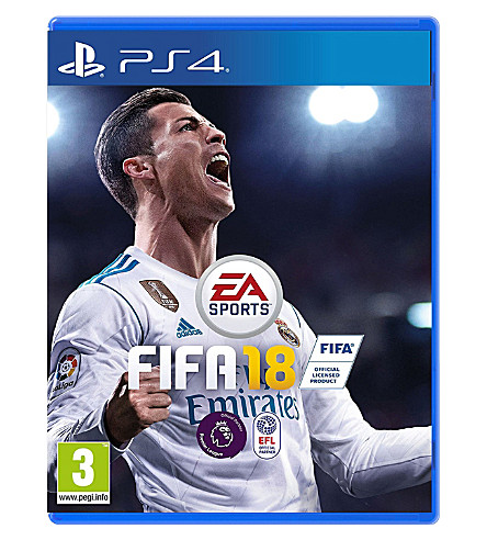 SONY FIFA 18 ps4 game