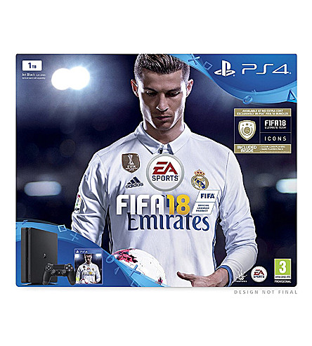 SONY Ps4 Pro Fifa 18 console bundle