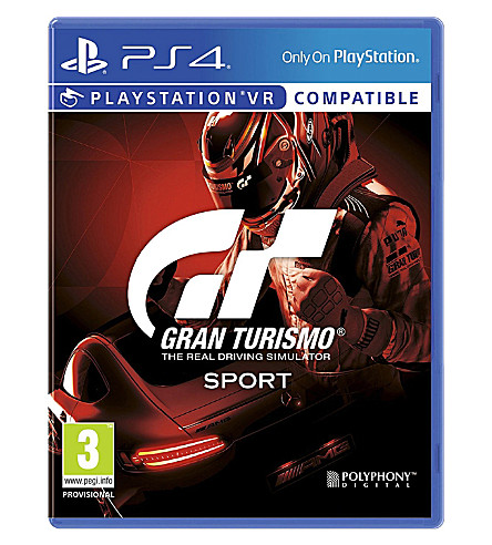 SONY Gran Turismo Sport ps4 game
