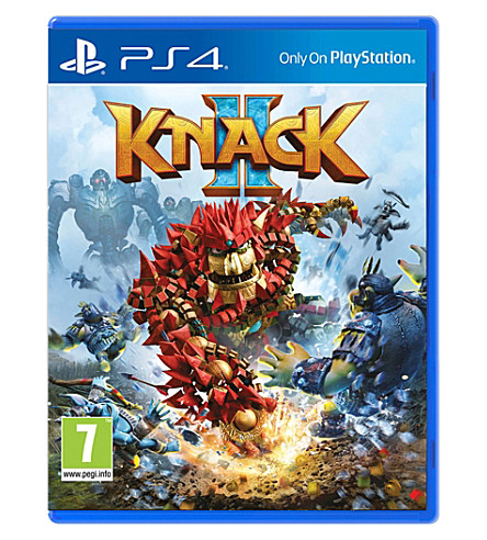 SONY Knack 2 PS4 game