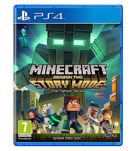 SONY Minecraft Story Season Two ps4 game