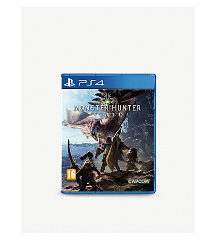 SONY Monster Hunter World PS4 game