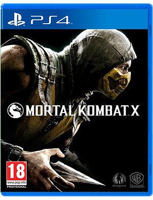 SONY Mortal kombat X ps4 game