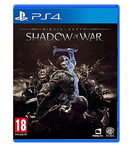 SONY Middle Earth Shadow of War PS4 Game