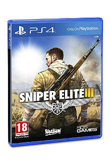 SONY Sniper Elite 3 Playstation 4 game