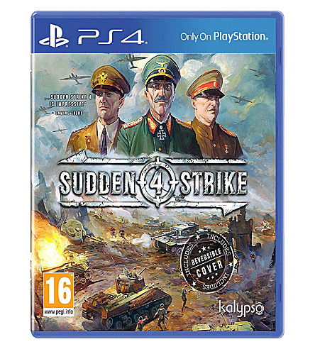SONY Sudden Strike 4 PS4 game