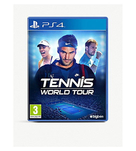 SONY Tennis World Tour PS4 Game