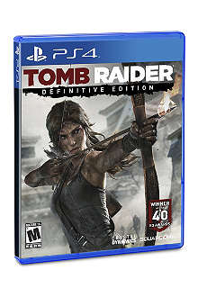 SONY Tomb Raider: Definitive edition game PS4