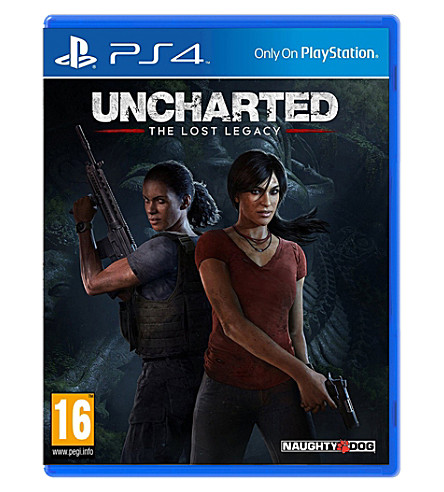 SONY Uncharted the Lost Legacy PS4 game