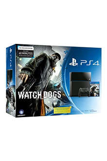 SONY PlayStation 4 Watch Dogs bundle