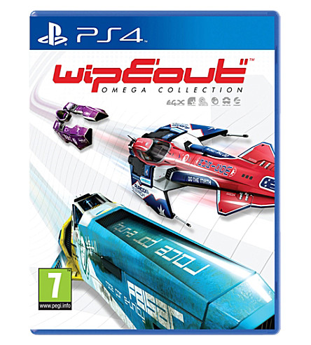 SONY WipEout Omega Collection PS4 game