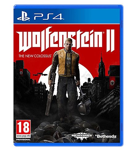 SONY Wolfenstein II: The New Colossus PS4 Game