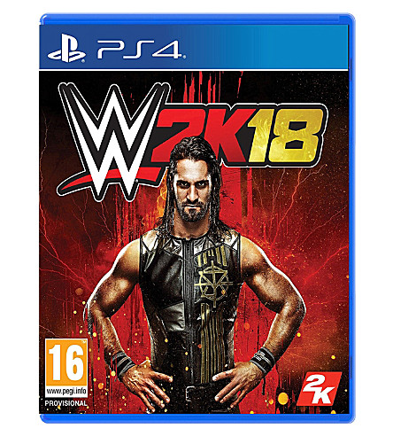SONY WWE 2k18 ps4 game