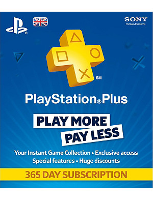 SONY Playstation Plus 365 days subscription