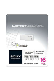 SONY Micro Vault USM16GM USB flash drive 16GB