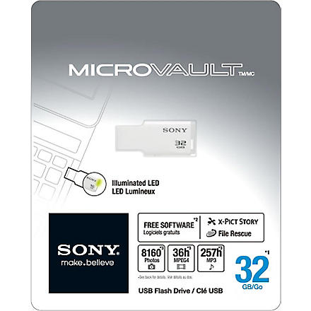 SONY Micro Vault USM32GM USB flash drive 32GB
