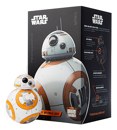 STAR WARS Sphero BB-8 app-enabled droid with trainer