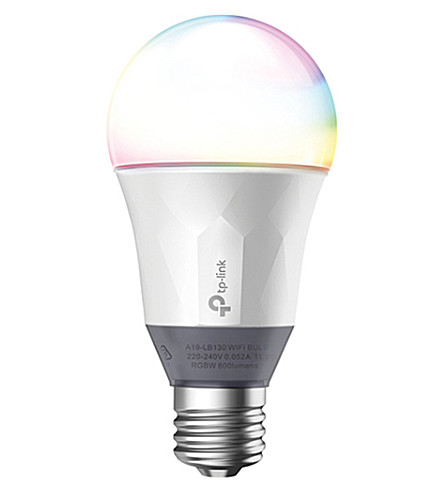 TP LINK Lb130 e27 screw smart wifi colour lightbulb