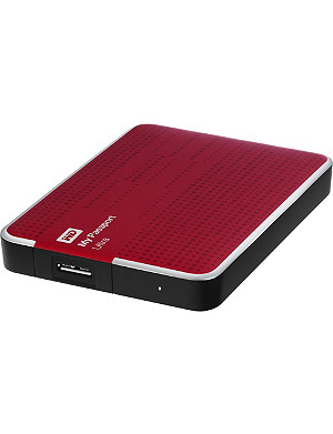 WESTERN DIGITAL My Passport Ultra 2TB hard drive Red