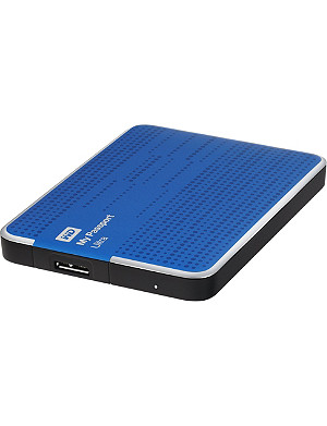 WESTERN DIGITAL My Passport Ultra 500GB hard drive Blue