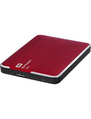 WESTERN DIGITAL My Passport Ultra 1TB hard drive Red
