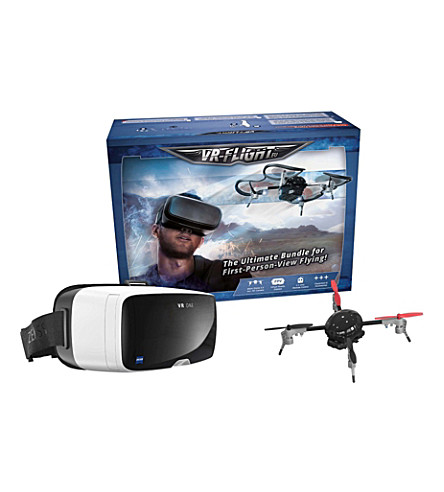 ZEISS Virtual reality flight headset and micro drone 3.0