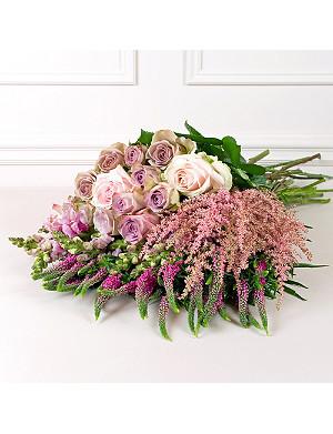 PHILIPPA CRADDOCK Antique abundant pink flower box
