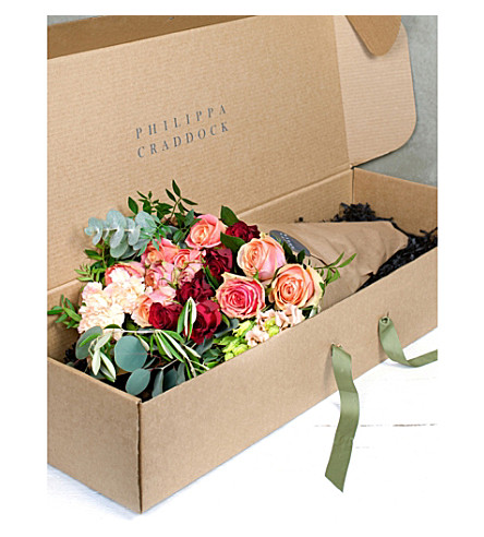 PHILIPPA CRADDOCK Brights luxury flower bunch