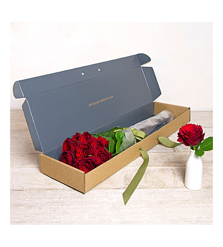 PHILIPPA CRADDOCK Twelve Decadent Roses flower box