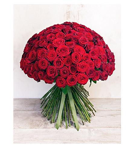 PHILIPPA CRADDOCK Dozen red roses bouquet