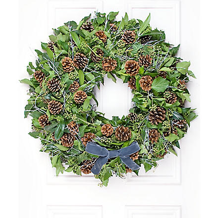 PHILIPPA CRADDOCK Ivy & Silver wreath