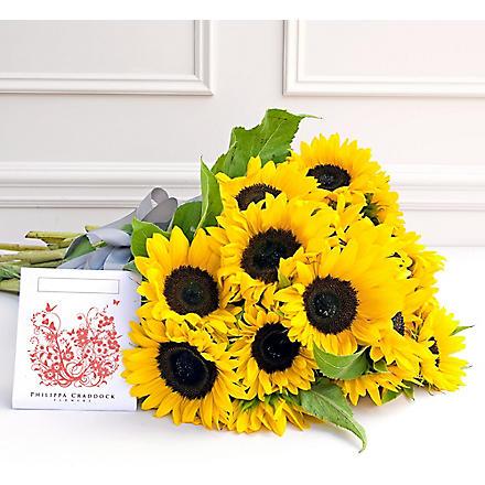 PHILIPPA CRADDOCK 15 Jolly sunflowers & seed packet