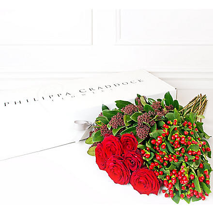 PHILIPPA CRADDOCK Valentine's Flower box