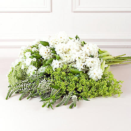 PHILIPPA CRADDOCK White & green flower box - medium