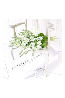 PHILIPPA CRADDOCK 25 pure white garden stocks & seeds