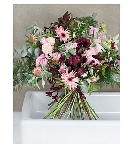 PHILIPPA CRADDOCK Wordsworth Valentine's luxury flower bouquet